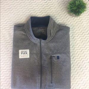 Men's IZOD Gray Sport Flex Vest XL